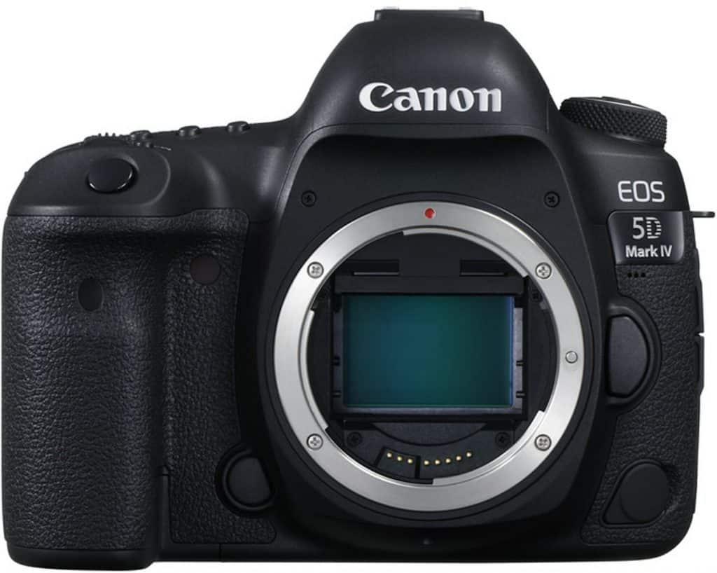 Canon EOS 5D Mark IV beste spiegelreflexcamera