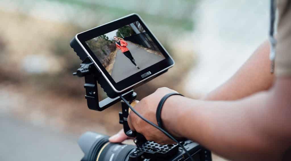 LCD scherm spiegelreflex