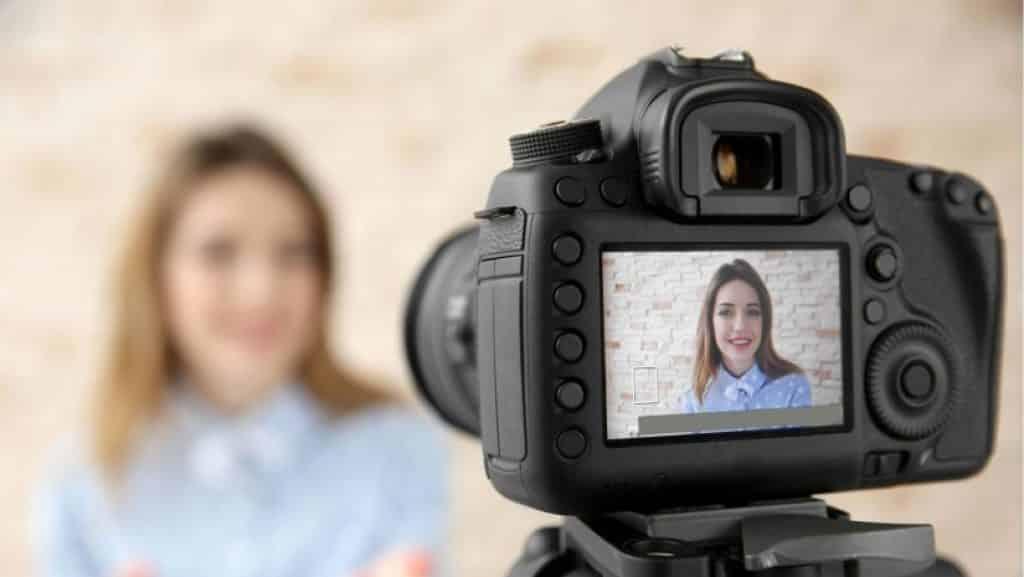 Video opname spiegelreflexcamera