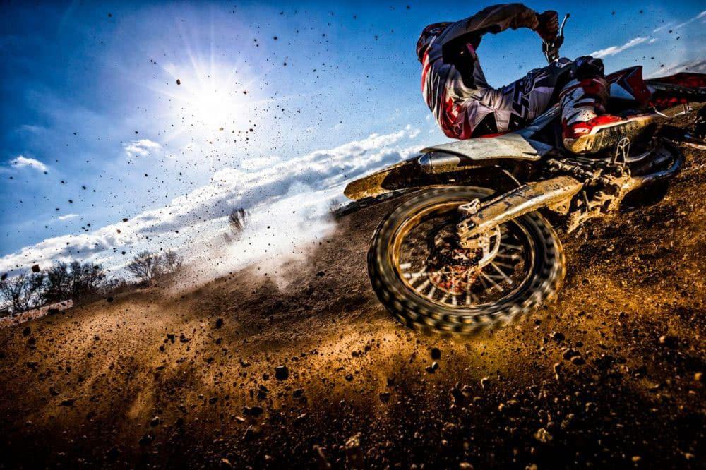 Extreme sport fotografie