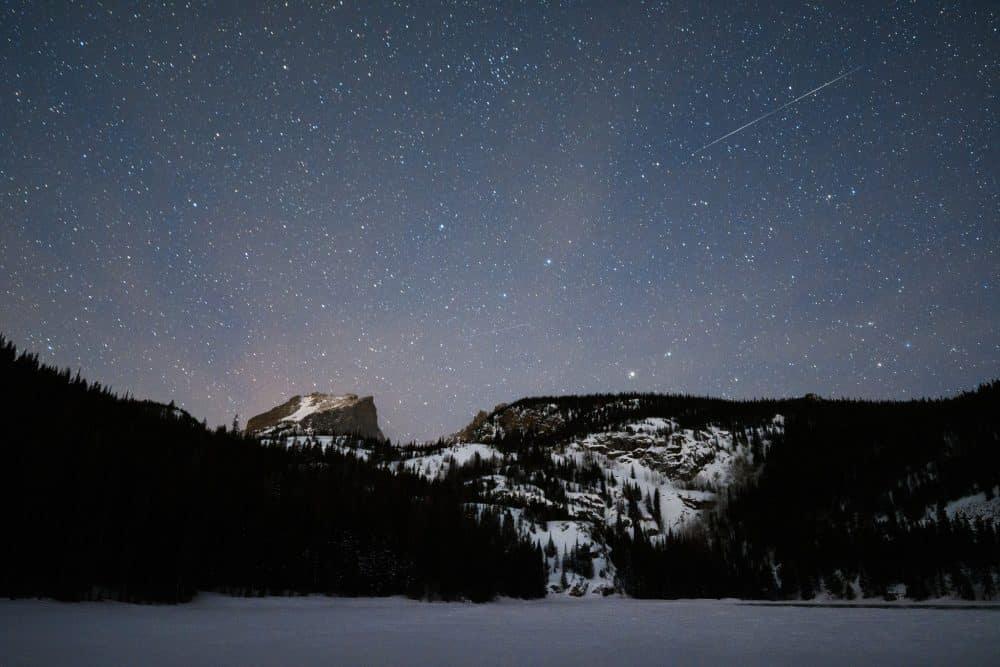 Foto van sterrenhemel