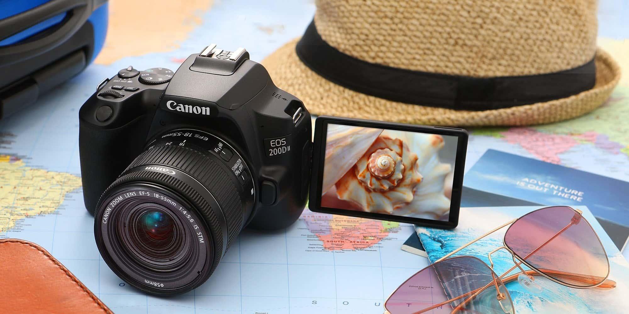 goedkope canon eos 200d spiegelreflexcamera
