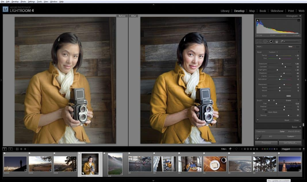 Lightroom fotobewerking