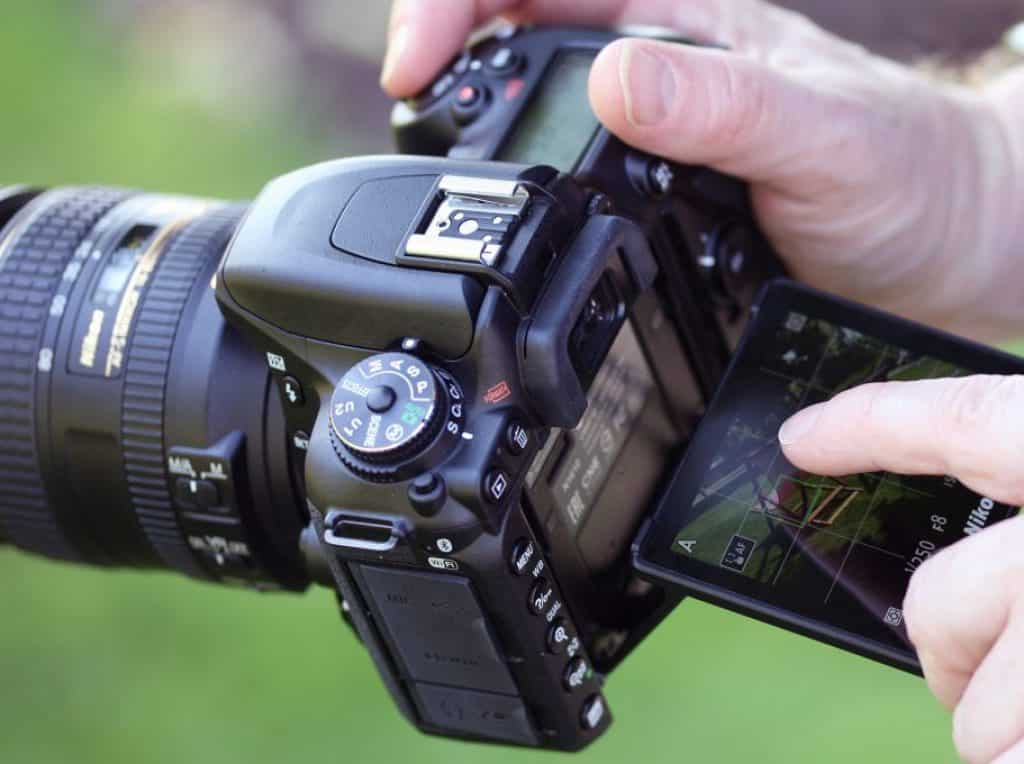 nikon d7500 touchscreen display