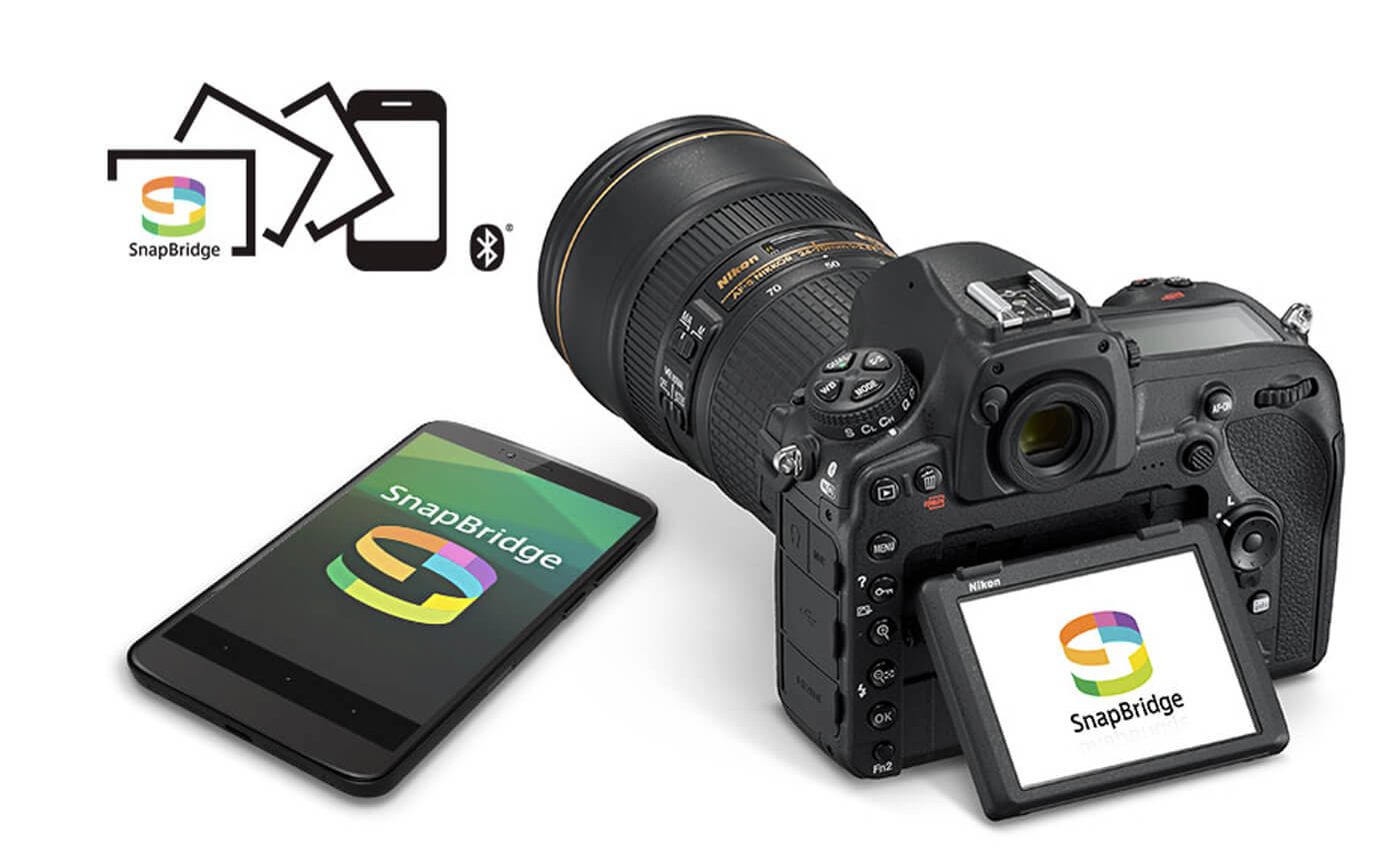 nikon d850 connectiviteit bluetooth snapbridge