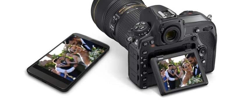 nikon snapbridge connect smartphone spiegelreflexcamera foto