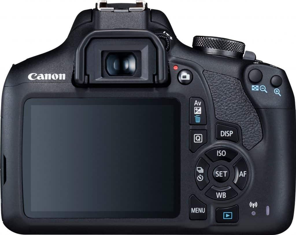 scherm en zoeker canon eos 2000d