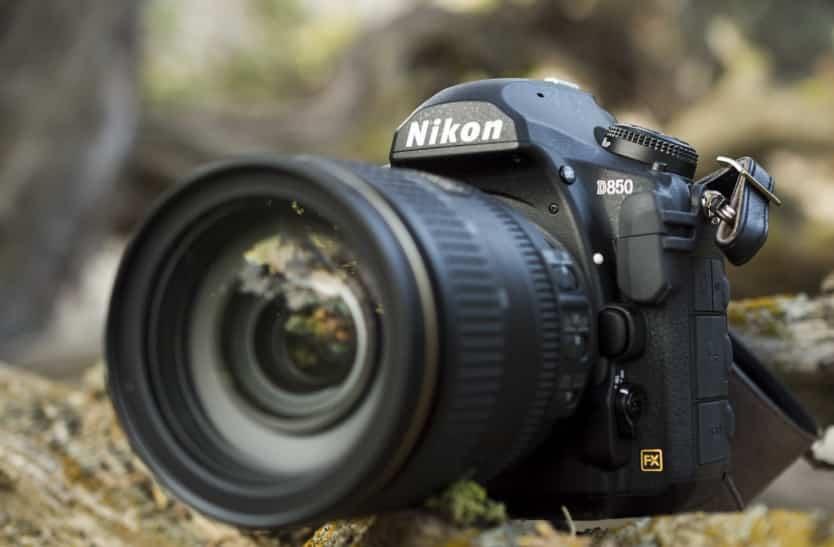 Vooraanzicht Nikon D850
