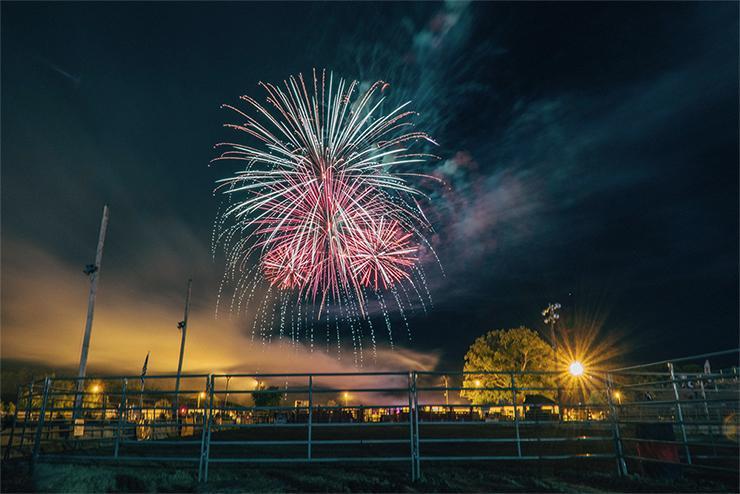 Vuurwerk kortere sluitersnelheid